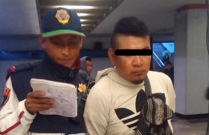 Detienen a hombre por eyacular sobre dos mujeres en el metro