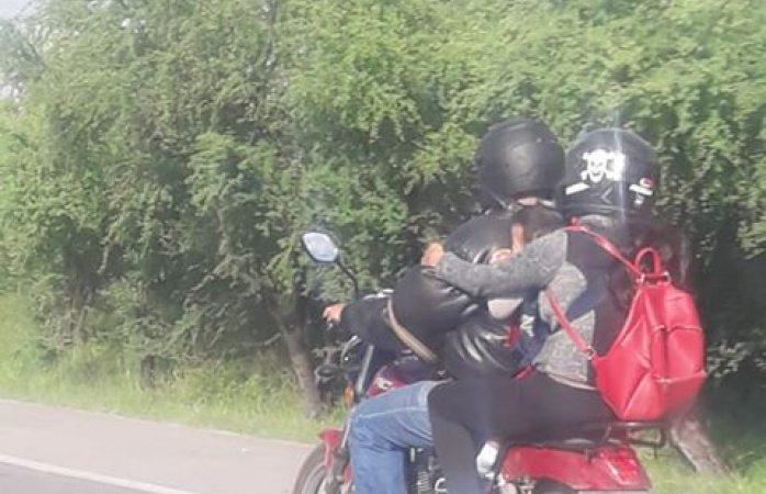 Denuncian negligencia en motociclista