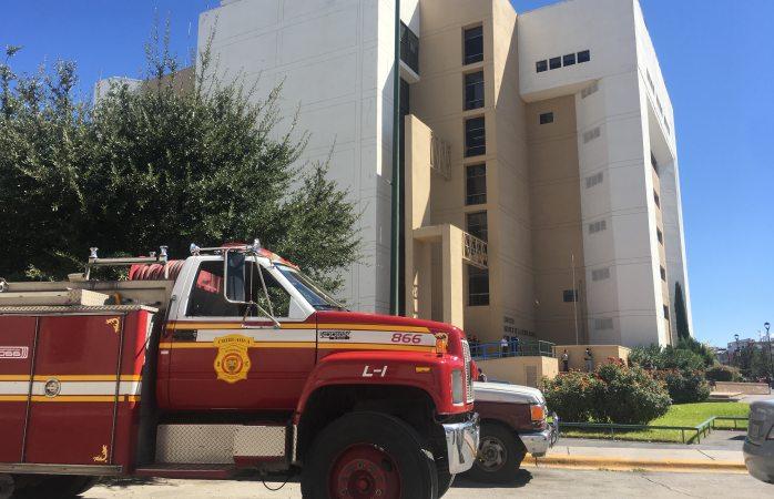 Falsa alarma de incendio en edificio héroes de la revolución