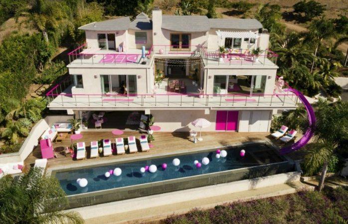 Rentan casa de barbie en airbnb
