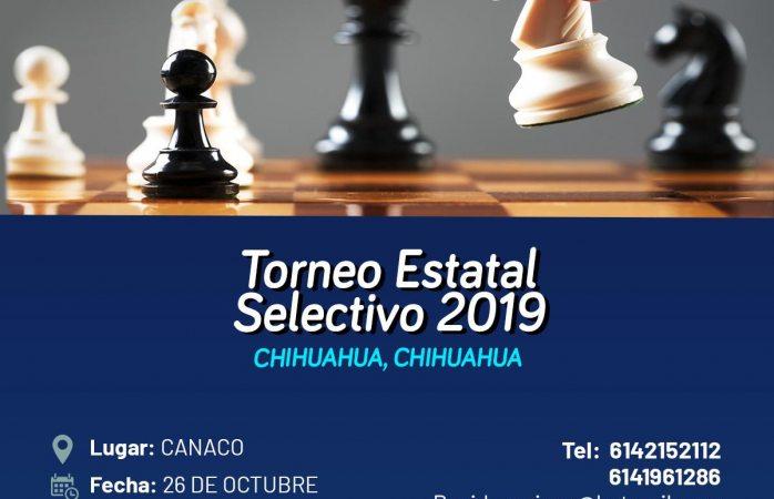 Convocan a torneo selectivo infantil y juvenil de ajedrez