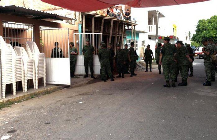 Velan en veracruz a militar abatido en culiacán