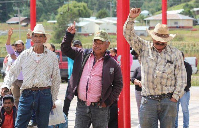 Firman acuerdos para prevenir incendios forestales en Guadalupe y Calvo