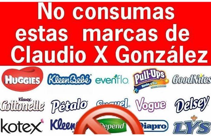 Llaman en redes a boicotear productos de Kimberly-Clark