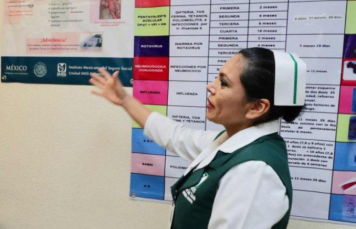 Imss abre más de mil plazas de enfermería para hospitales rurales