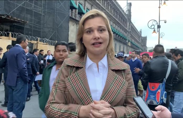 Nos gasearon afuera de palacio nacional: maru