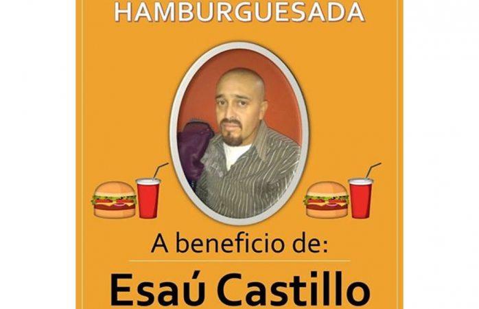 Organizan hamburguesada con causa