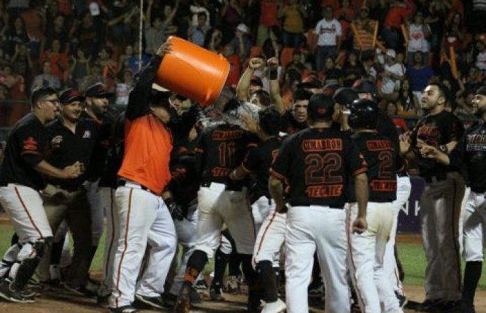 Espectacular triunfo de delicias en la serie final del béisbol estatal
