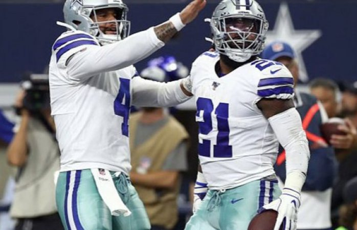 Cowboys dominan a los Giants