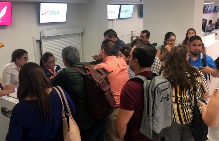 Cancela aerolínea tar vuelo a hermosillo; decenas de afectados