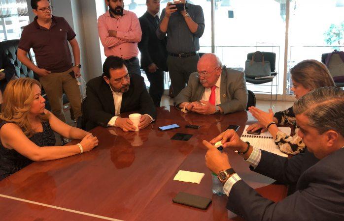 Instalan jucopo presidida por Rubén Aguilar