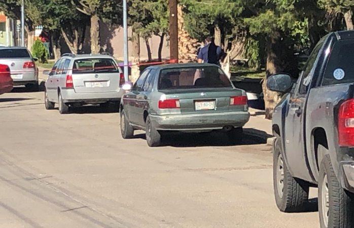 Hallan auto abandonado por sicarios