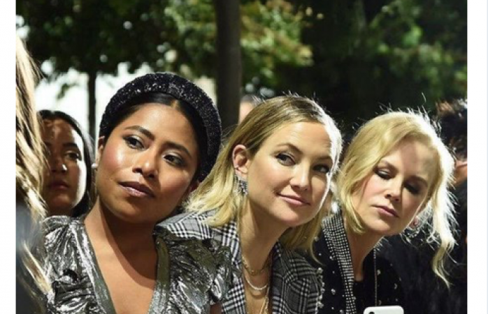Se burlan en redes de sergio goyri por foto de yalitza en el fashion week