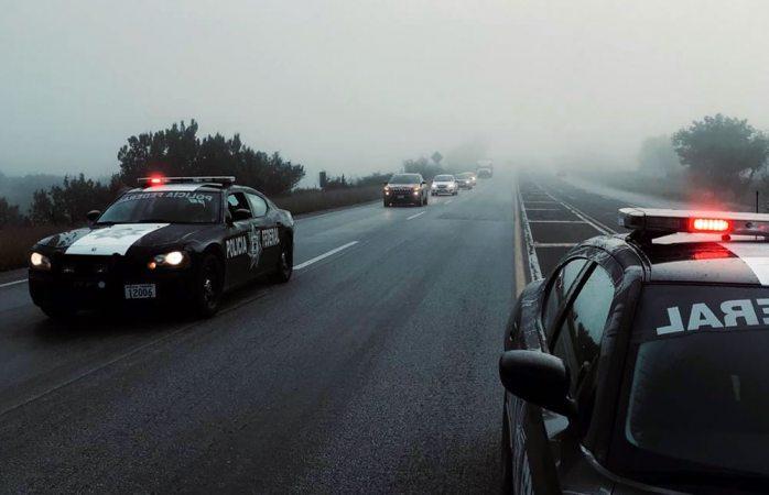 Realiza pf operativo carrusel por neblina en la carretera a cuauhtémoc
