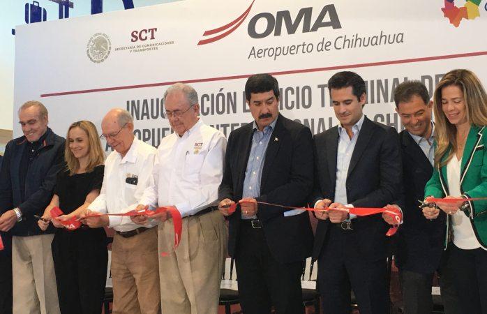 Inauguran ampliación del aeropuerto roberto fierro