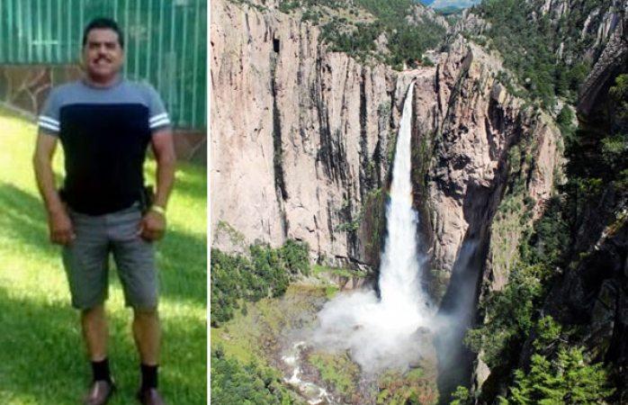Sin rastro de turista que cayó de la cascada de Basaseachi