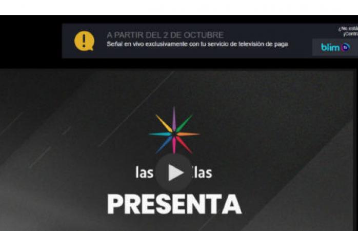 La señal por internet del canal de las estrellas dejará de ser gratuita