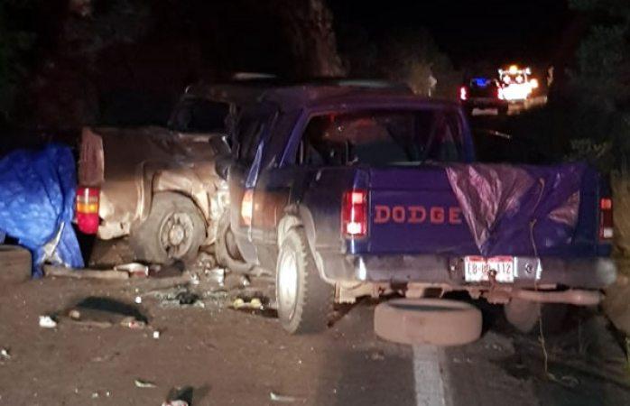 Una mujer muerta en aparatoso choque carretero