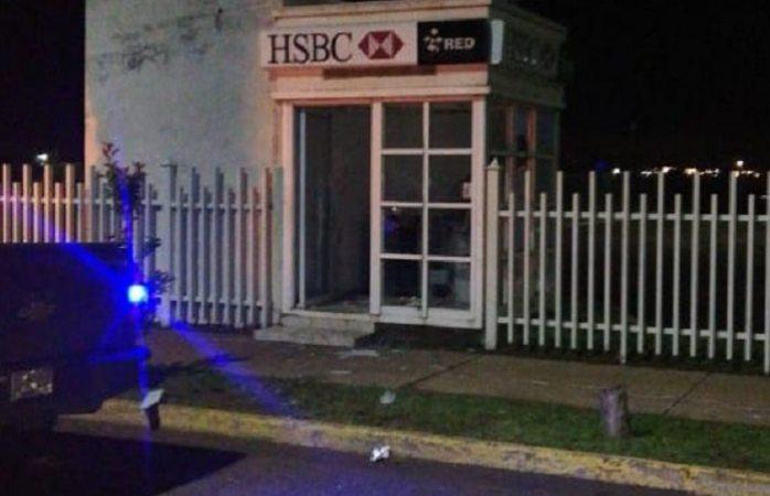 Intentan robar cajero automático en cuauhtémoc