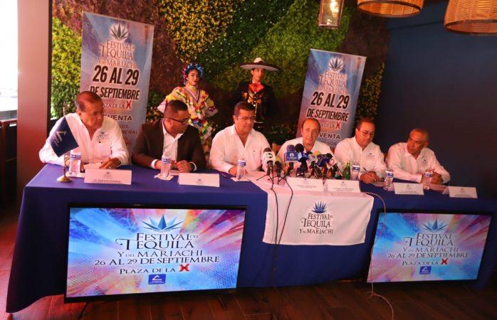 Anuncia festival internacional del tequila y del mariachi 2019