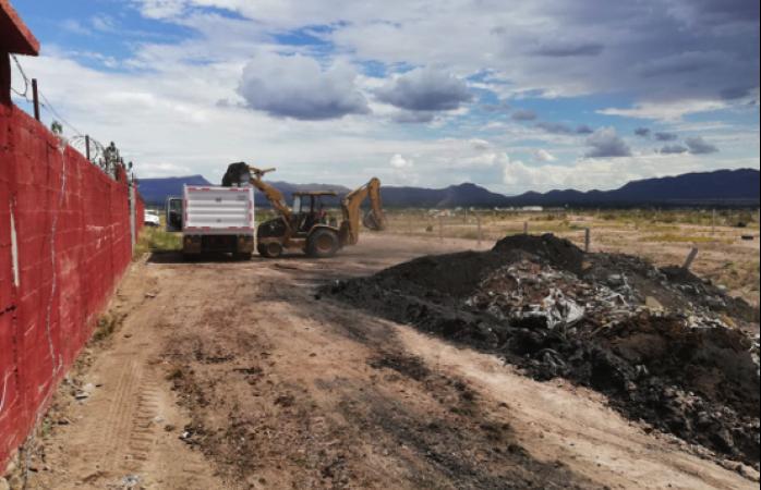 Retiran 600 toneladas de basura y escombro en romanzza y paseo de los leones