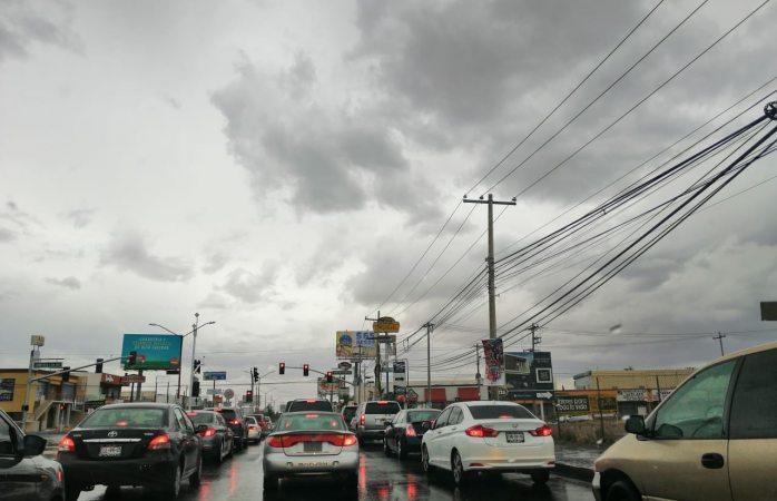 Alerta amarilla en Juárez por lluvias en la tarde