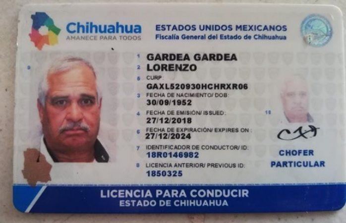 Buscan a dueño de licencia