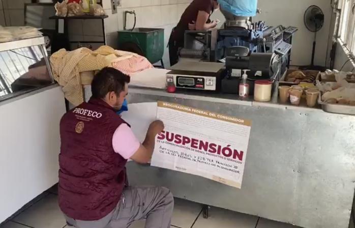 Clausuran aquí tortillería por vender kilo a $20