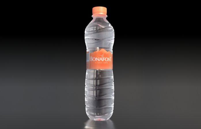 Bonafont anuncia que hará mascaras protectoras con plástico de botellas