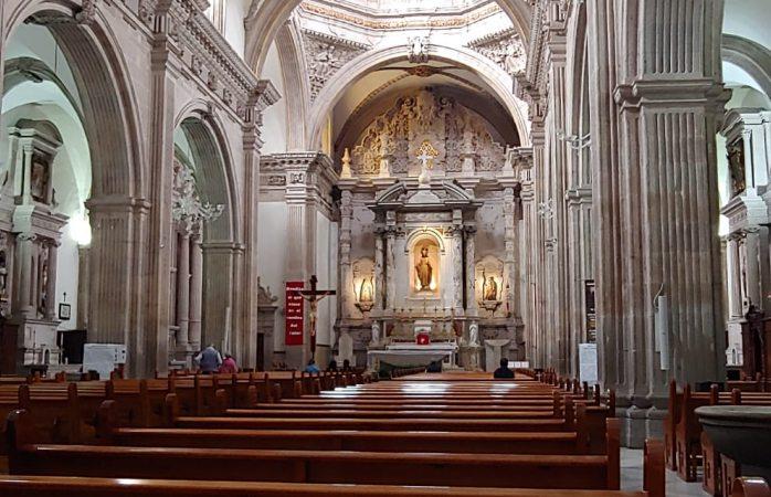 Abre sus puertas la catedral pero con sana distancia