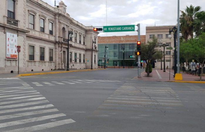 Sin gente en las calles