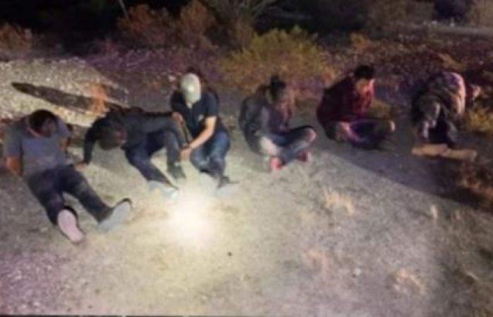 Detienen a grupo de migrantes ilegales en presidio