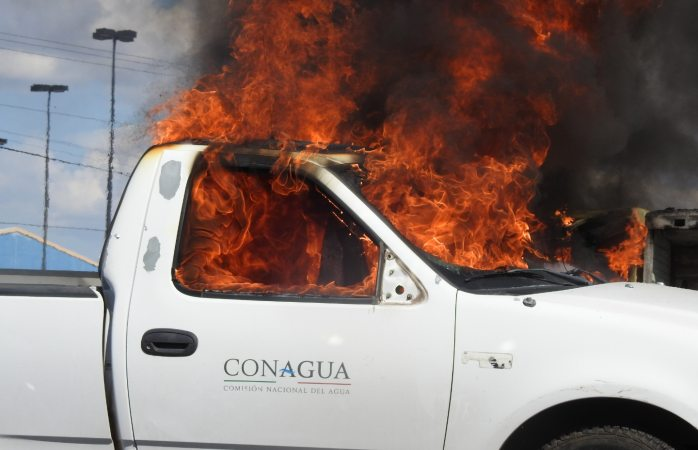 Interponen denuncias por daños a edificios federales en protestas