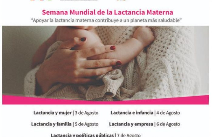 Invitan a videoconferencias sobre lactancia materna
