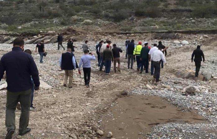 Hallaron sin vida a niña que fue arrastrada por arroyo en Coahuila