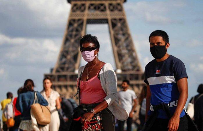 Registra francia mil 700 casos nuevos de covid
