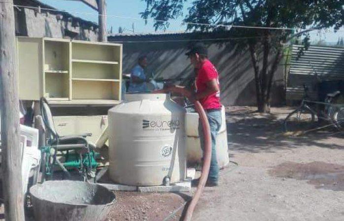 Sin agua 15 días en barranco blanco; pararon pozo