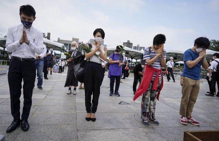 Japón conmemora 75 años del ataque nuclear en hiroshima