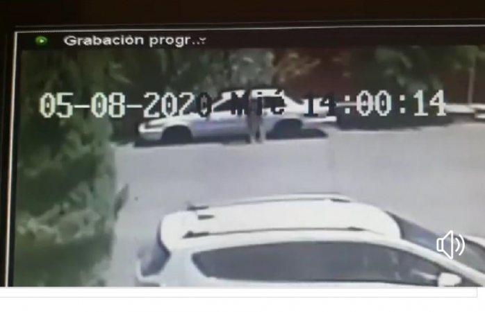 Roban auto en menos de un minuto