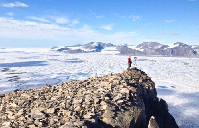Se rompe última plataforma intacta de hielo en canadá