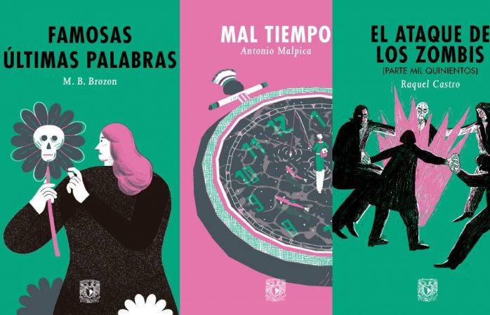 UNAM presenta Hilo de Aracne, colección de literatura juvenil