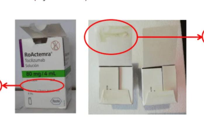 Alerta cofepris alerta sobre falsificación del medicamento roactemra