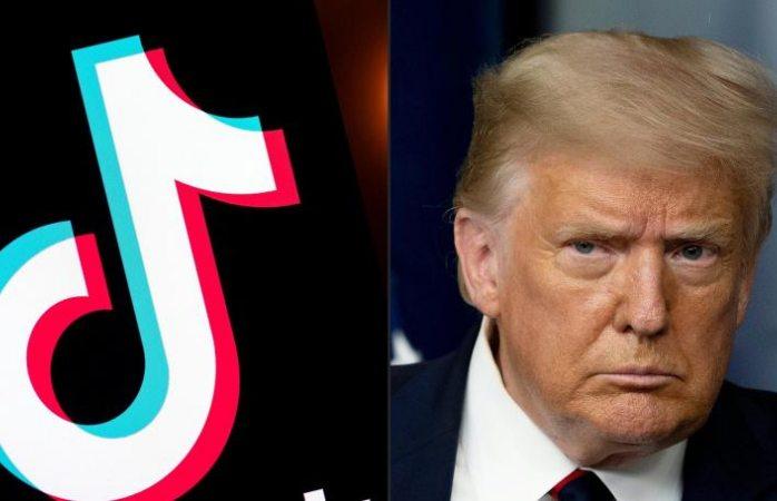 Trump publica decreto que prohíbe transacciones con TikTok por 45 días