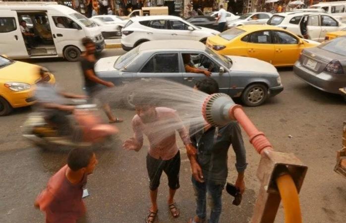 Irak llega a los 52°C tras fuerte ola de calor