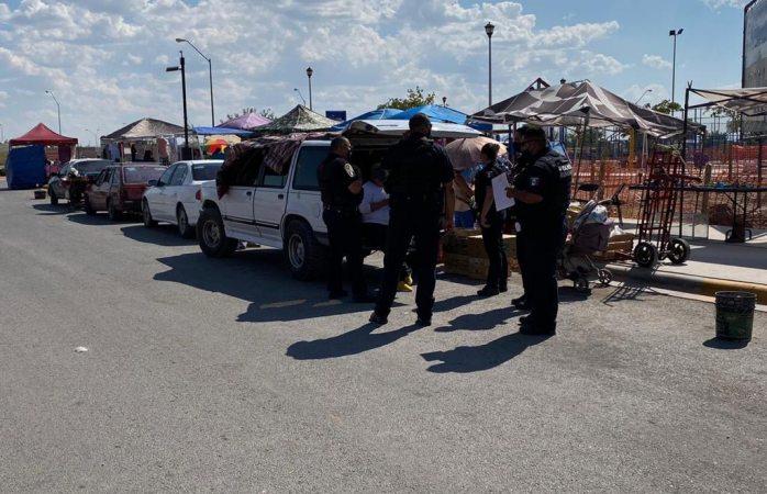 Movilización policíaca por riña en punta oriente
