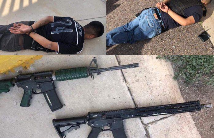 Fueron dos detenidos tras balacera en cuauhtémoc