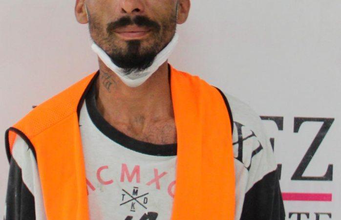 Detienen a sujeto por los delitos de lesiones dolosas y allanamiento de vivienda