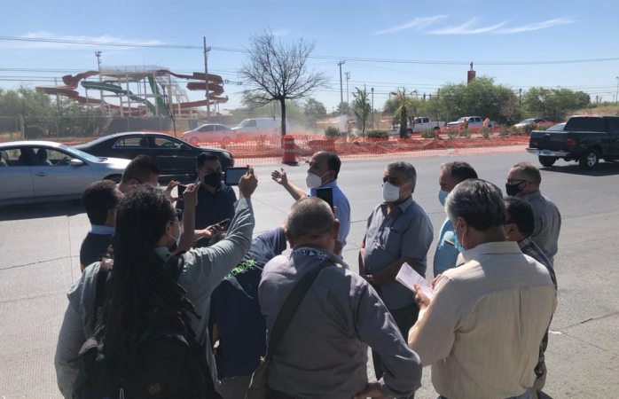 Piden suspender obras de ruta troncal en juárez