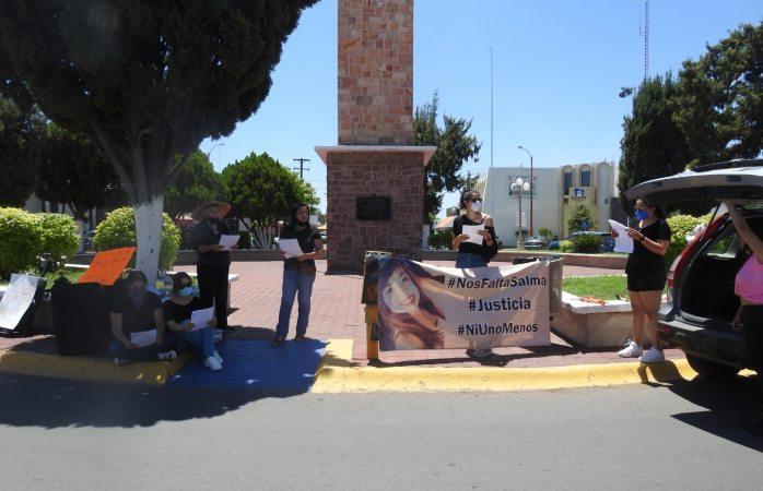 Protestan en defensa de mujeres asesinadas; claman justicia por Salma y Adriana