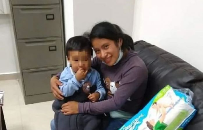 Hallan sano y salvo al bebé Dylan que desapareció en Chiapas